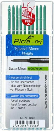 Pica-dry Marker Minen,versch.Sets Neues Modell Blaubleistift Bleistift