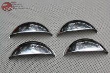 "Custom Headlight Lamp Bulb Covers Shields 5"" Stick Out Pop Up Raised Half Moons"