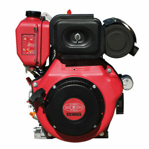 Details About New 10hp Small Diesel Engine With Electric Start 10 Hp