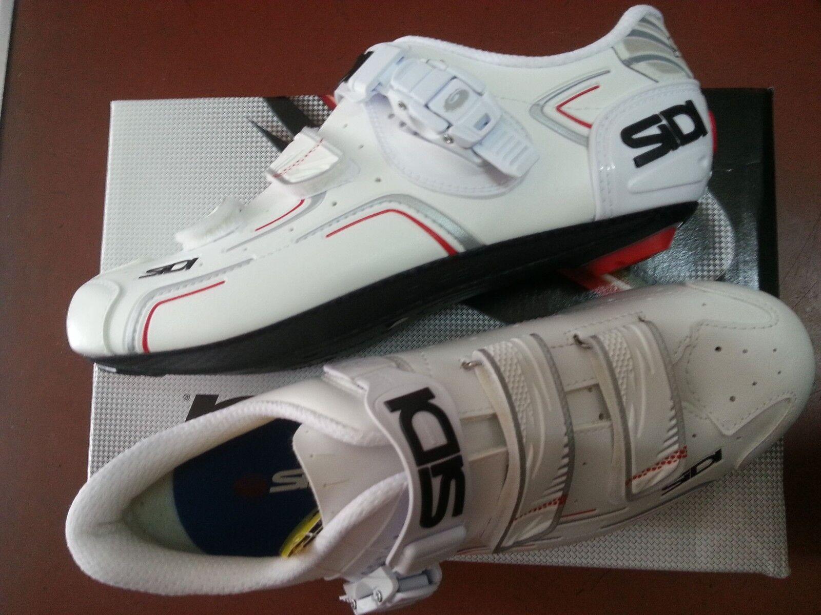 Schuhe SIDI X BICI DA 41 CORSA LEVEL TG 41 DA BIANCO Weiß fabd84