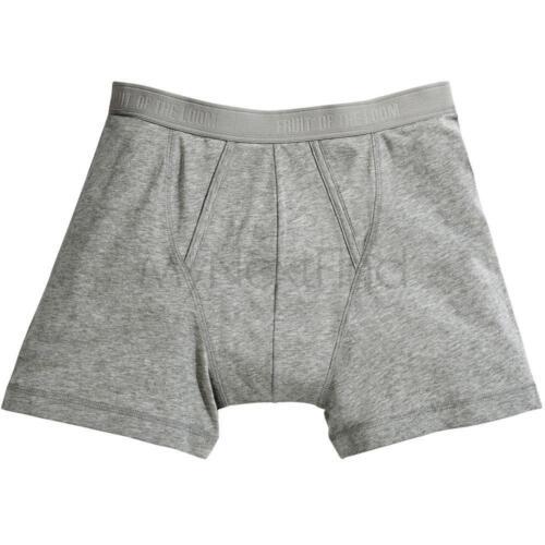 FRUIT OF THE LOOM Pour Homme classique Boxer Shorts Sous-Vêtements 2-Pack