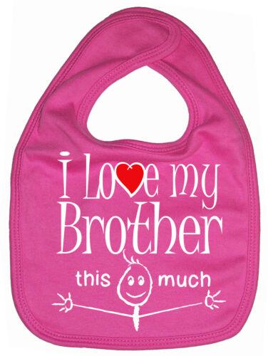 """Bruder Backwards /"""" I Love My Bruder This Much /"""" Lustig Jungen Mädchen Geschenk"""