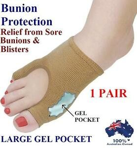Gel-Bunion-Protector-Toe-Separator-Straightener-Alignment-Pain-Relief-Foot-Pad