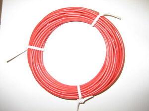 KFZ Kabel Leitung FLRy 0,5mm² 10m rot Fahrzeugleitun<wbr/>g Auto Pkw Lkw