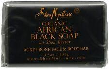 Shea Moisture African Black Soap Facial Bar Soap 3.5 oz