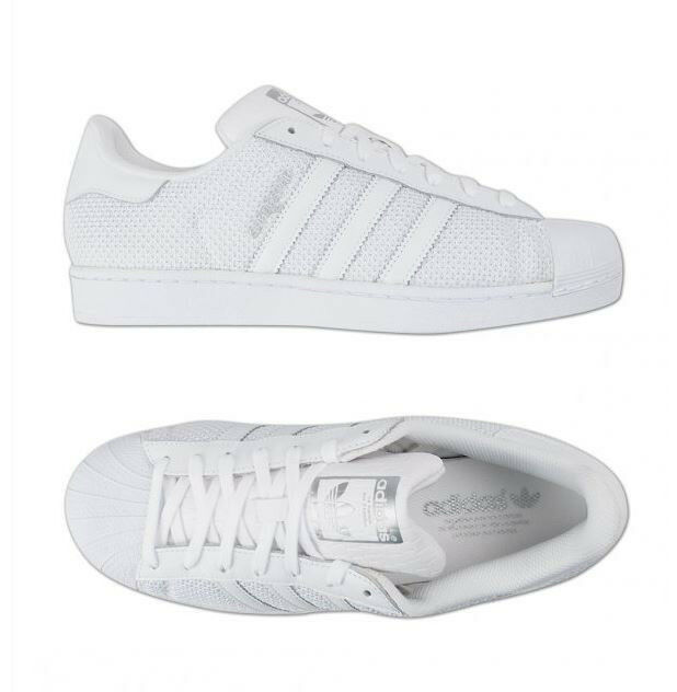 Adidas Original Superstar (S75962) Athletic Sneakers Shoes White Women's Men's