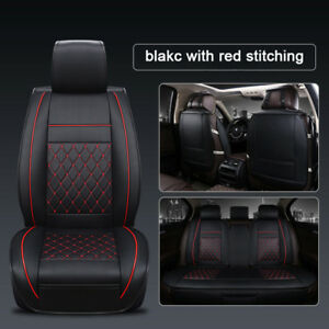 Custom Fit Universal Car Seat Cover For 5 Seats Car Lexus Bmw Audi