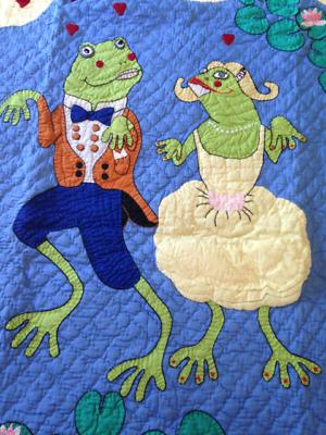 New Judi Boisson American Country Quilt Square Pillowcase 1998 Cotton