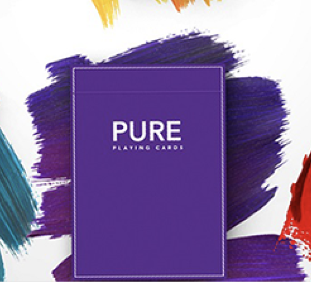Purple Pure NOC Playing Cards by TCC and HOPC