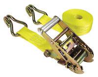 Keeper 05519 15' Ratchet Tie-Down 1,666 lbs WLL (5000lbs Break Strength) J-Hooks