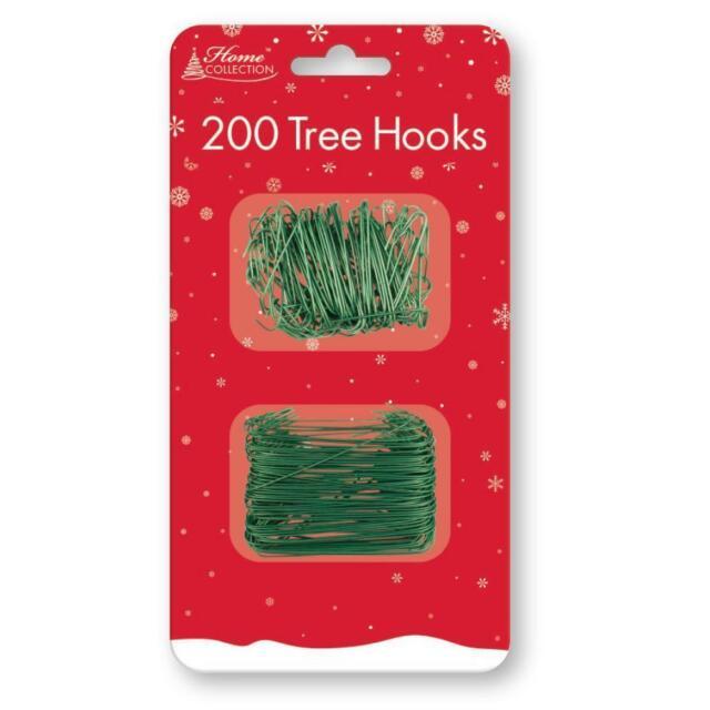 Green Tallon 300 Multi-Purpose Christmas Tree Ornament Bauble Hooks