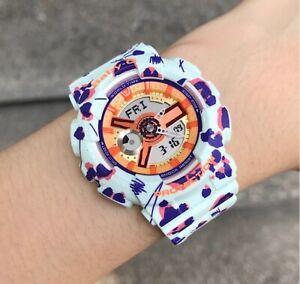 Casio-Baby-G-BA110FL-3A-Flower-Leopard-Mint-Anadigi-Watch-COD-PayPal