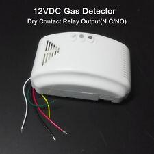 12V RV PROPANE ALARM LP  Gas Detector with N.C NO Output Camper RV Trailer Boat