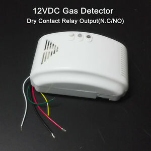 12v Rv Propane Alarm Lp Gas Detector With N C No Output