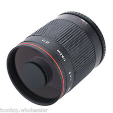 Kelda 500mm f/8.0 Telephoto Mirror Lens with T Mount for Canon Nikon DSLR Camera