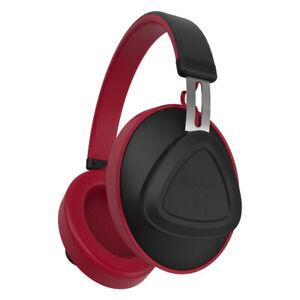 Bluedio-TM-Bluetooth-5-0-Headphones-Wireless-Voice-Control-Headset-Stereo-Red