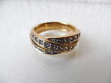 schöner  Ring___Goldfarbend _____Geschliffene Zirkonia___Pierre Lang____Gr.61_!