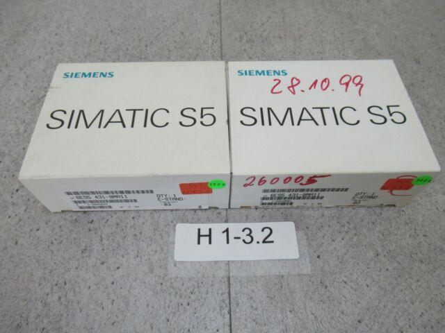 2x Siemens Simatic 6ES5 431-8MA11 Digital Input Module E-Stand: 03 Unused