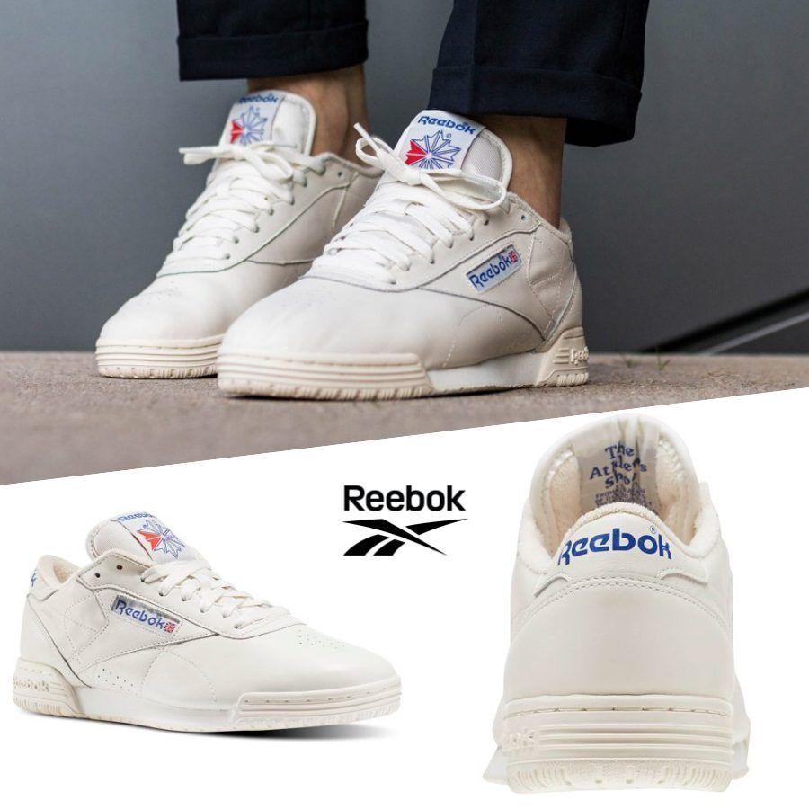 4195c4c14a733e Reebok Reebok Reebok Classic Exofit Lo Clean Vintage Shoes Sneakers Beige  BD3380 SZ 4-12.5