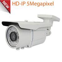 5mp High Definition Poe Ip 72ir Security Camera 2.8-12mm Zoom Osd Ip66 Onvif
