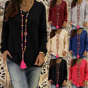 Womens-Casual-Long-Sleeve-Sweatshirt-Pullover-Tops-Jumper-Sweater-Shirt-Blouse