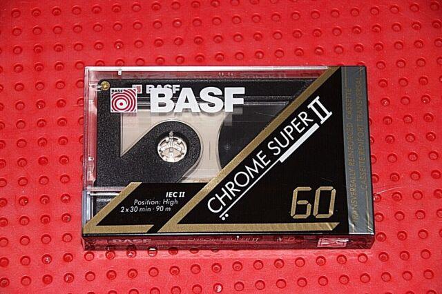 54  BLANK CASSETTE TAPE 1 BASF PRO II CHROME PURPLE NEW
