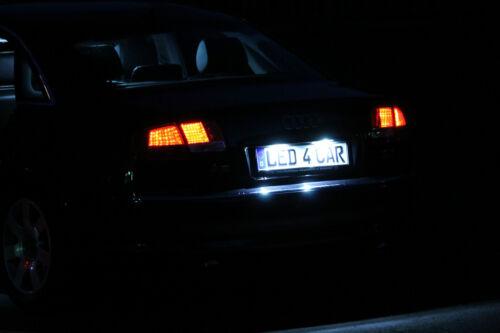 Xenon Weiss Led Kennzeichenbeleuchtung für Seat Superb II 3T Limousine mit E4