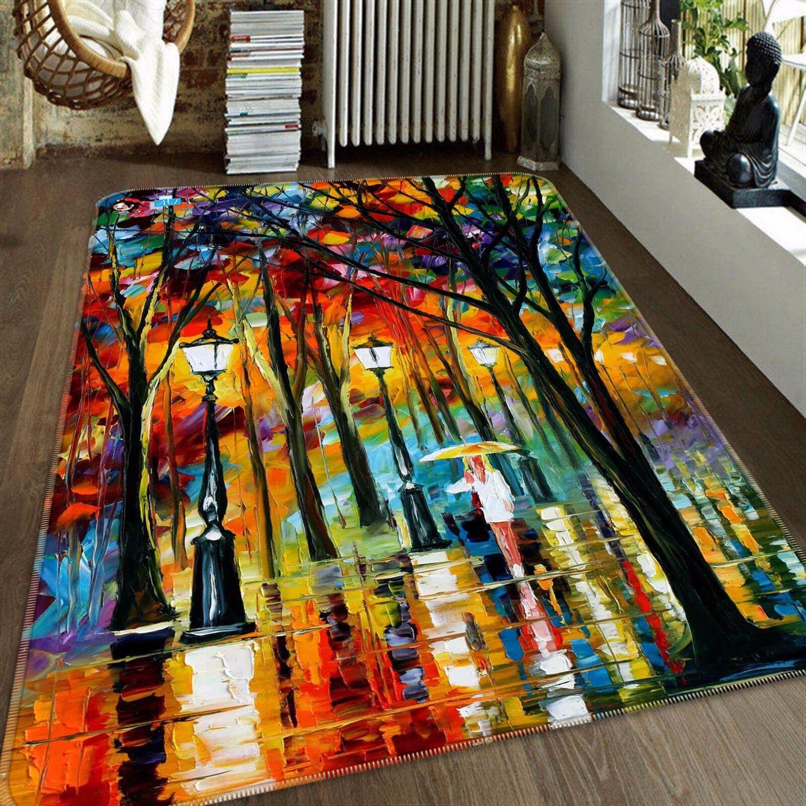 3d ramas dibujar 446 antideslizante alfombra alfombrilla para maletero alfombra elegante de