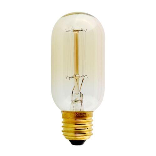 E27 Vite 60W Vintage Antico Stile Retrò Luce Filamento Edison Lampadine UK Luci