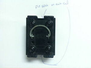 wadsworth 30 amp fuse panel pull out 2 flat notches ebay rh ebay com Wadsworth Fuse Holder Wadsworth Fuse Service