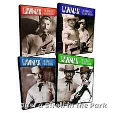 Lawman Complete Classic Western TV Series Seasons 1 2 3 4 Boxed / DVD Set(s) NEW