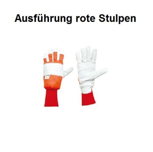 Schnittschutzhandschuh Gr.8 Schnittschutz li 16m//s Forsthandschuh für Kettensäge