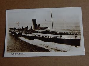 Postcard shipping Paddle Steamer Southsea Ltd edition PC 1982 122500 unposted - Rossendale, United Kingdom - Postcard shipping Paddle Steamer Southsea Ltd edition PC 1982 122500 unposted - Rossendale, United Kingdom