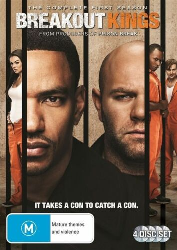 1 of 1 - Breakout Kings: Season 1 (DVD, 2012, 4-Disc Set), NEW REGION 4