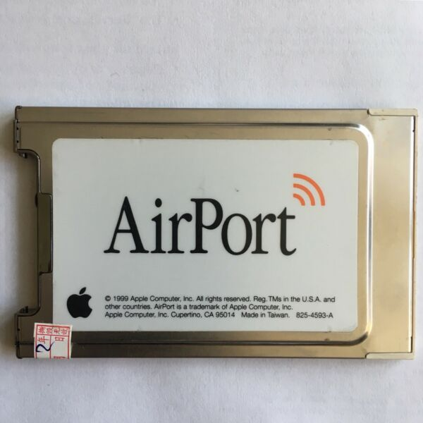 Apple Airport Pc24-h - Original Apple Airport 802.11b Wireless Card