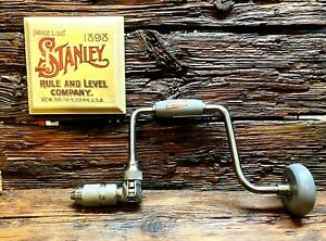Stanley-Handyman-1253-10-034-Hand-Brace-Made-in-USA-Excellent-Condition
