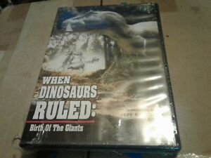 When-Dinosaurs-Ruled-Birth-Of-The-Giants-DVD-Brand-new-factory-sealed