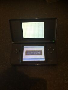 Nintendo-DS-Lite-Console-Cobalt-Blue-amp-Black-Limited-Edition