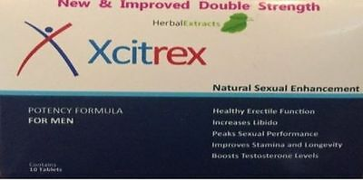 10 x 100mg Male Men Blue Sex Tablets Natural Sexual Enhancement 100% Guarantee