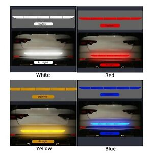 Car-Auto-Reflective-Warn-Strip-Tape-Bumper-Truck-Safety-Sticker-Decals-Paster-LI