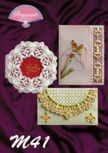 Parchment Craft Pergamano Pattern Book M41 Luper Designs New