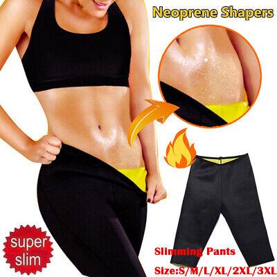 UK SELLER WOMEN SAUNA GYM YOGA SPORTS EXERCISE PANTS LEGGINGS CAPRI TROUSERS EP