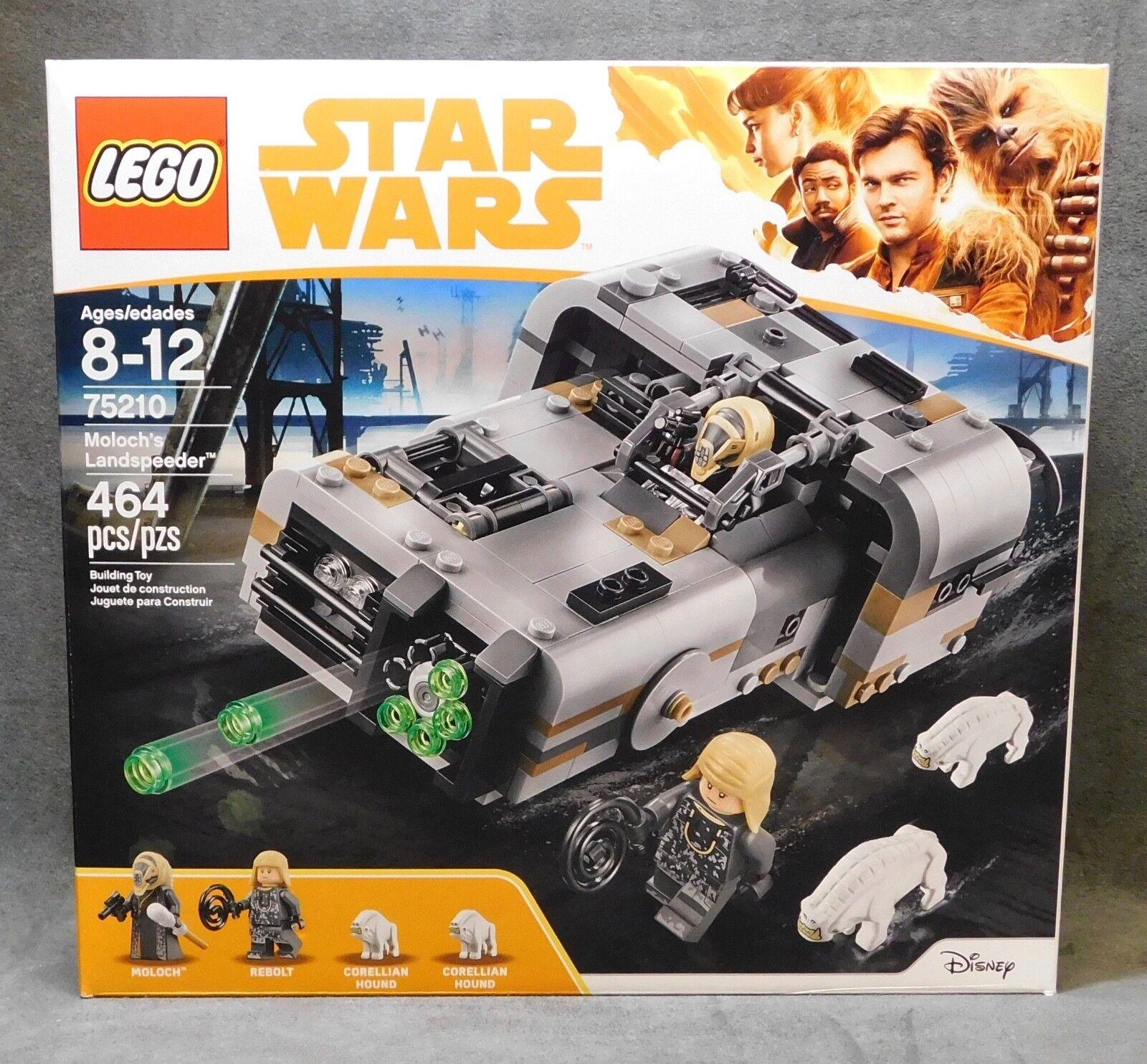 LEGO Star Wars - Moloch's Speeder 75210 - Moloch - Rebolt - Corellian Hound