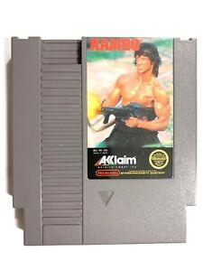 Rambo-ORIGINAL-NINTENDO-NES-GAME-TESTED-WORKING-amp-AUTHENTIC