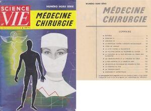 C1 Science Et Vie Hors Serie Medecine Chirurgie 1959 Bon Pour AntipyréTique Et Sucette De La Gorge