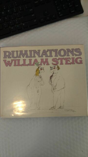 Ruminations by William Steig (1984, Hardcover) Published by Farrar Straus Giroux