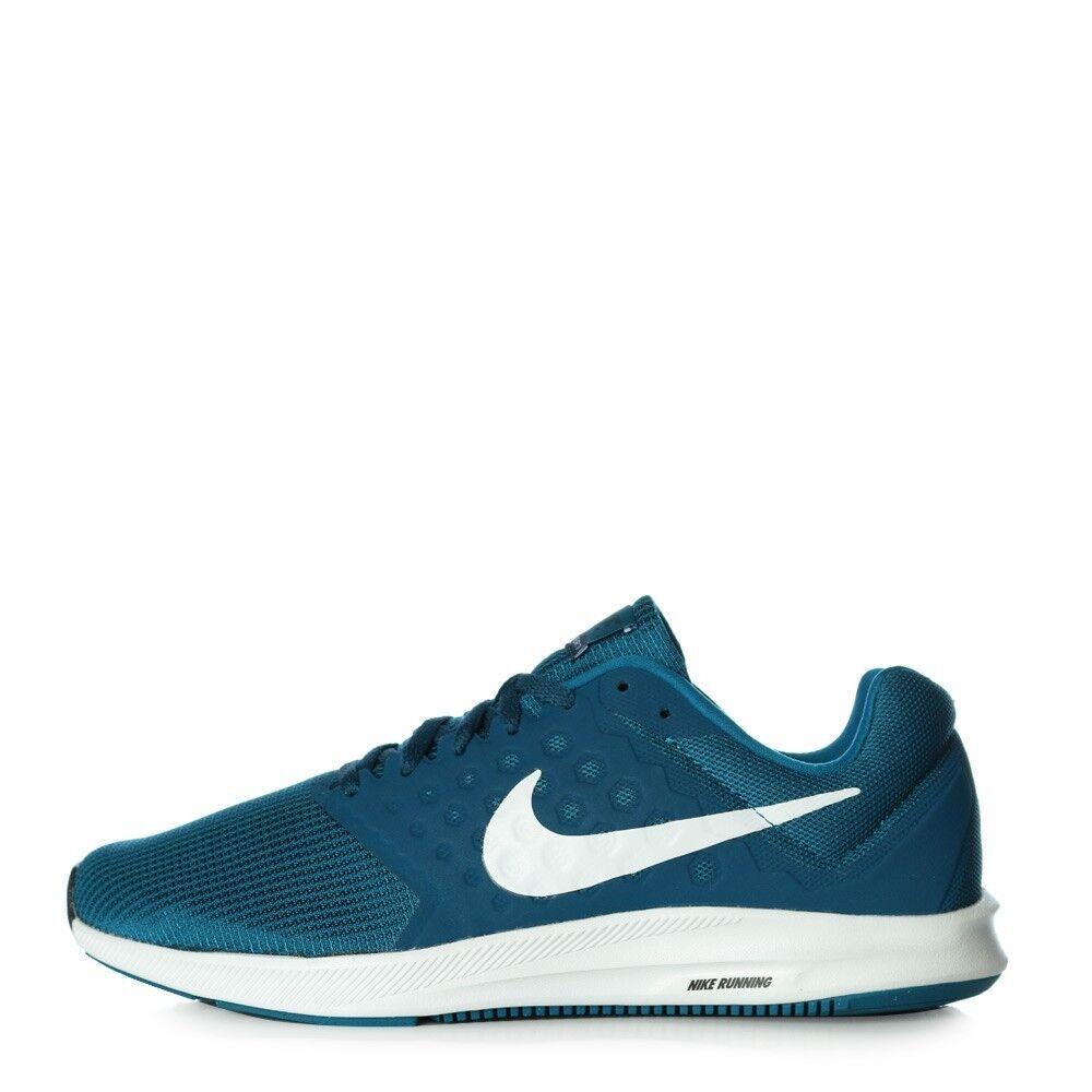 Nike Hombre Downshifter 7 Zapatos Talla 11 852459 Verde abismo Blanco Azul 852459 11 301 097961