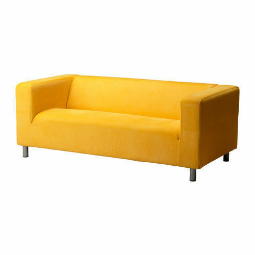 Ikea Klippan Leaby Yellow Cover For
