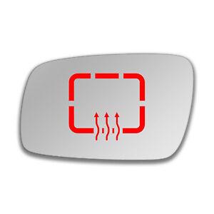 Lato-SINISTRO-a-Clip-Riscaldato-Specchio-Vetro-per-Volkswagen-Phaeton-2003-2010-895-lshp