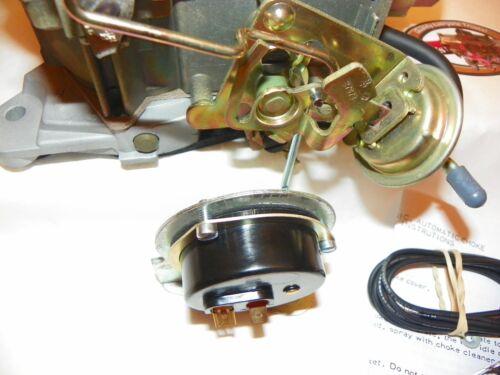 Pontiac 1971 72 Electric Choke Conversion Rochester Quadrajet Carburetor 400 455